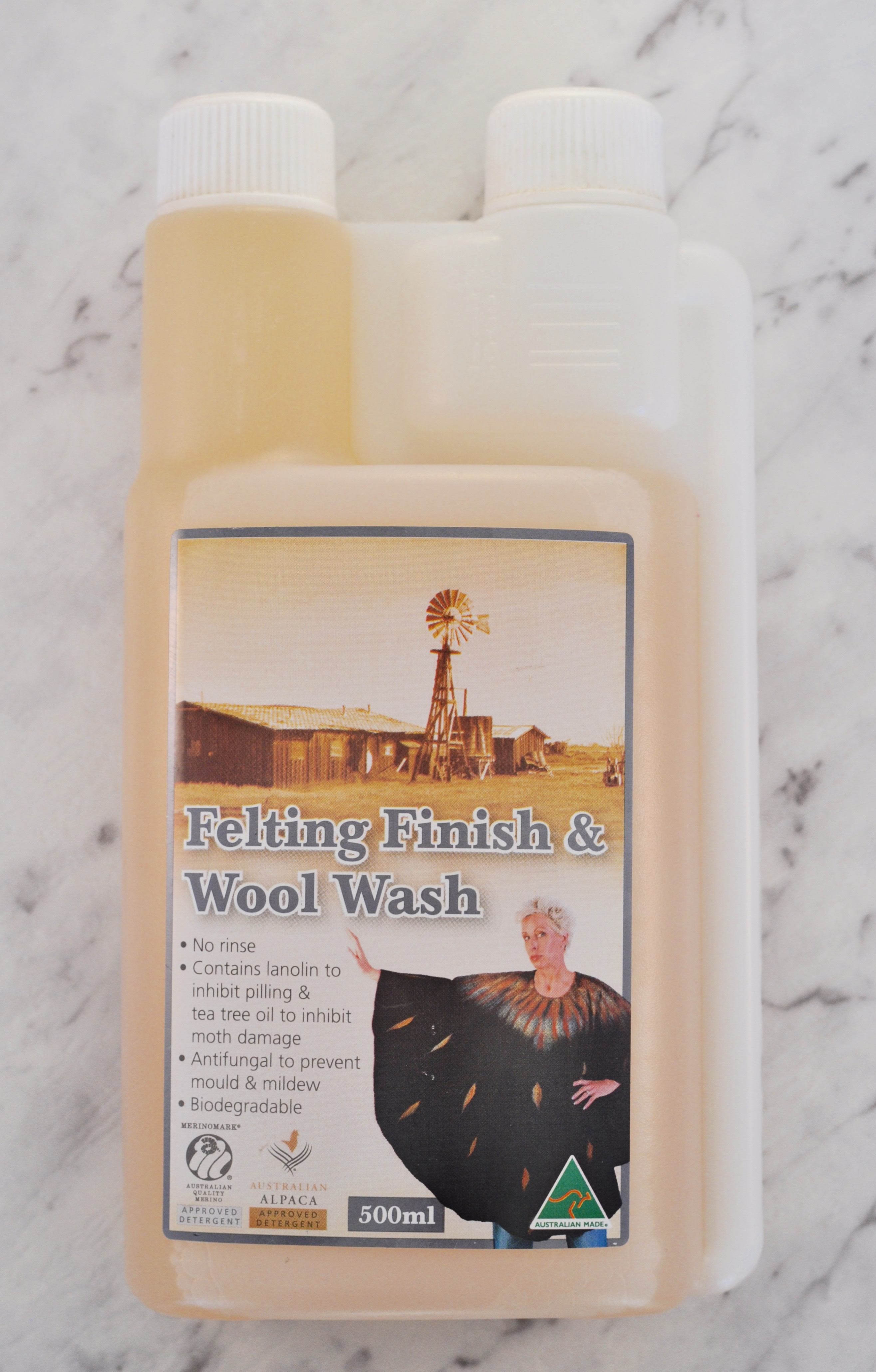 tantech felting finish and wool wash