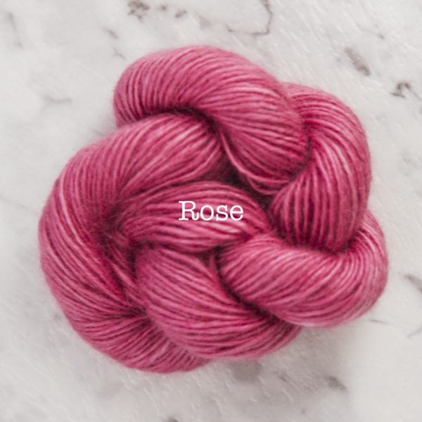 Rosabella PRIMA kid silk merino yarn_ROSE
