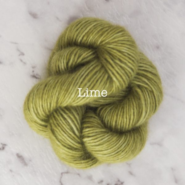 Rosabella PRIMA kid silk yarn_LIME