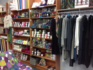 John Watts Sewing Booval extensive range of yarns and accessories