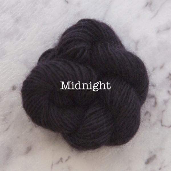 Rosabella PRIMA kid silk merino yarn_MIDNIGHT