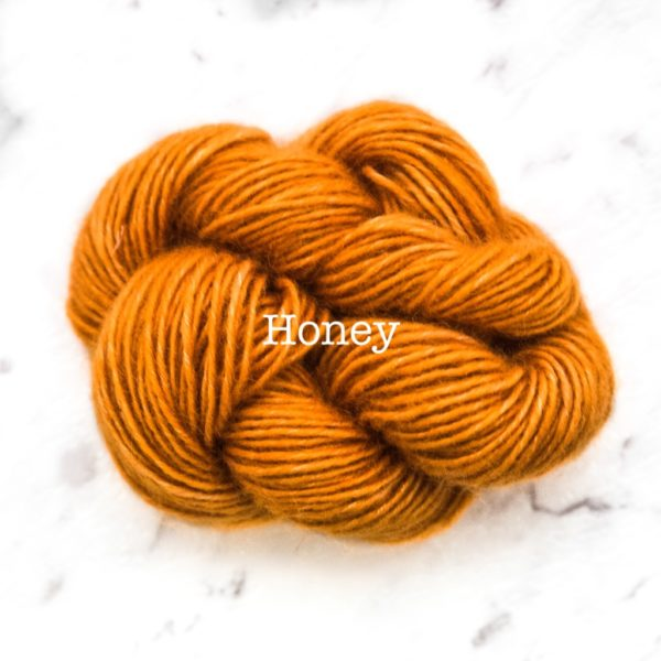 Rosabella PRIMA kid silk merino yarn_HONEY