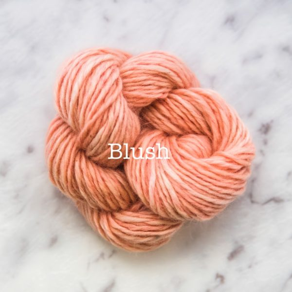 Rosabella TIRAMISU 8 kid merino cotton yarn_BLUSH